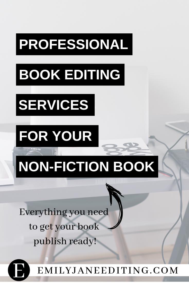 Cheap book editing services