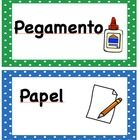 Label your classroom with these bright and colorful labels. Edit them to fit your classroom! Available in English and Spanish....