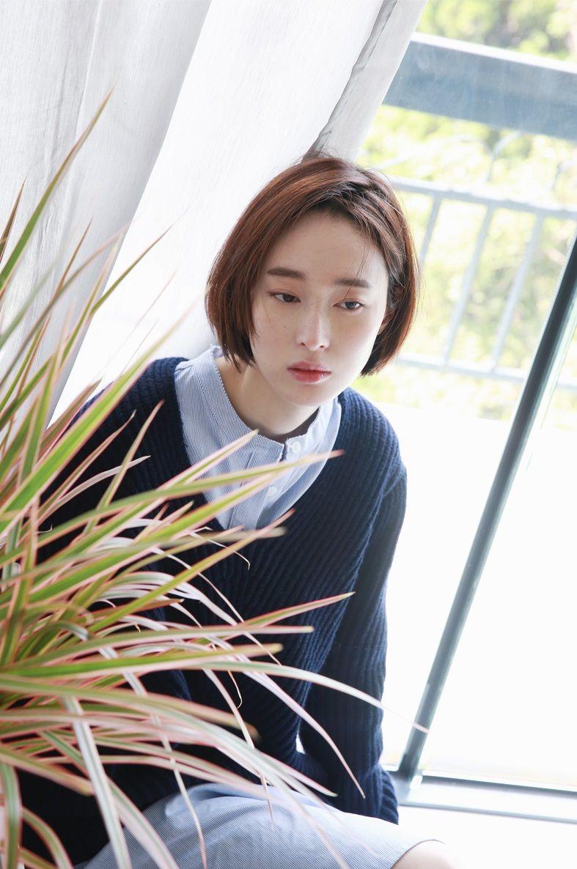 Pin by am on asian girls pinterest short hair girl short