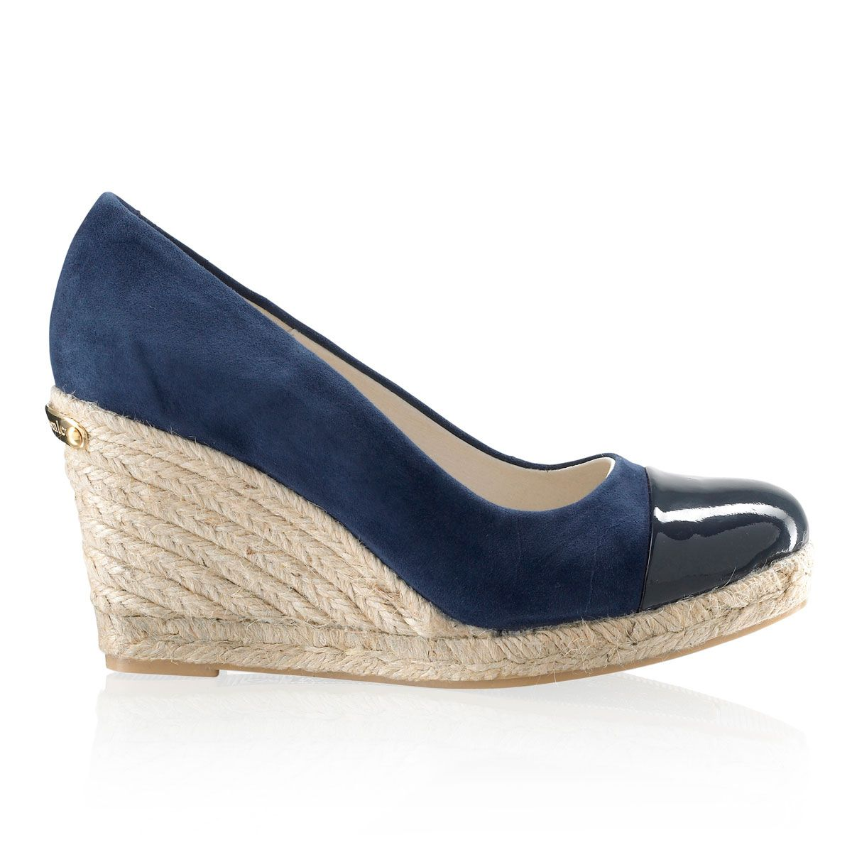 663b31a4722cd Russell and Bromley COCO-POP Toe-Cap Rope Wedge £125.00