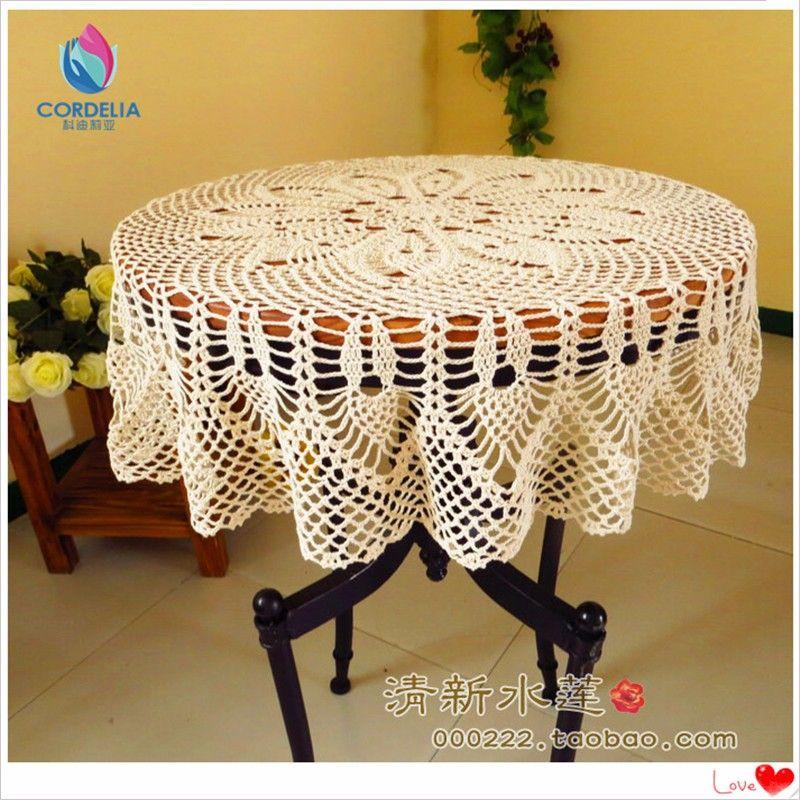 مفارش المائدة الدانتيل 06 Dining Table Cloth Round Table Covers Table Cloth