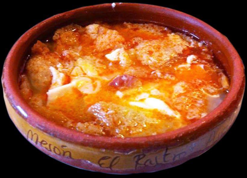 Varomeando sopa de ajo castellana sopas y cremas - Sopa castellana casera ...