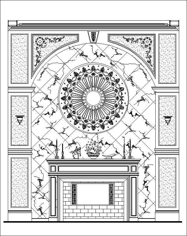 Luxury Design Elements Architecture Ornamental Parts Decorative