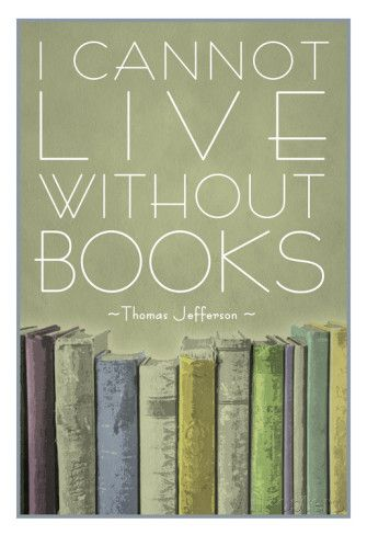 Image result for I can't live without books