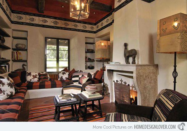 17 Awesome African Living Room Decor | Home Design Lover · Afrikanisch  WohnzimmerAfrikanischen StilWohnzimmer DesignsWohnkultur ...