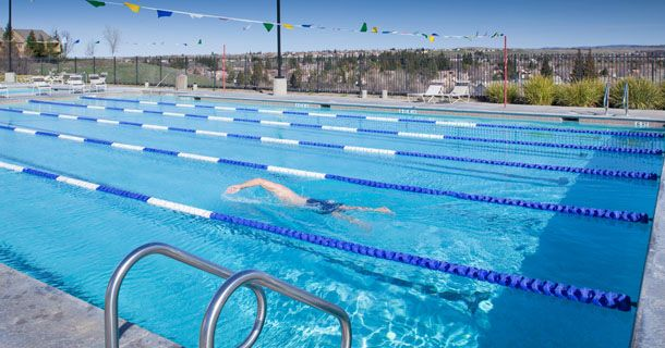 Get Some Cardio In By Swimming Laps In Our Lap Pools Picture Rocklin Rocklin Family Fitness Group Fitness Classes