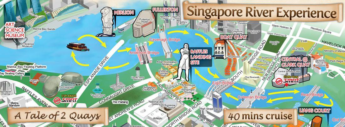 River Cruise Singapore River River Cruises Merlion Singapore