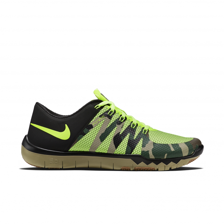 nike free trainer 5.0 v6 amp mens training shoe camo