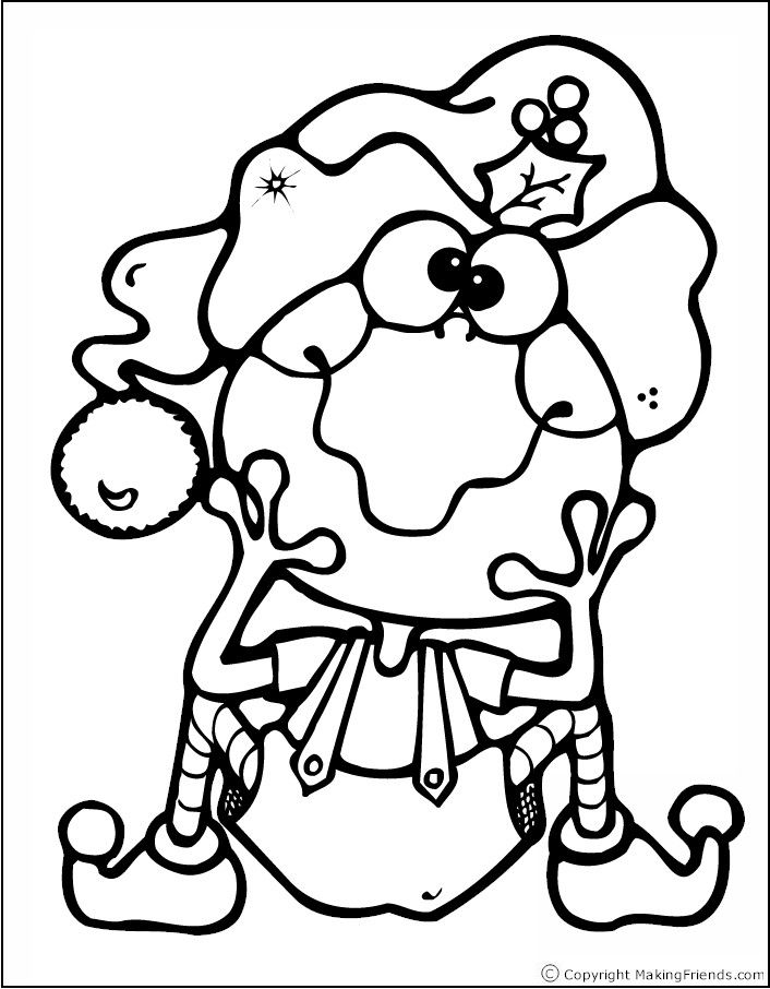 Madagascar Thinking Day Download Frog Coloring Pages Christmas