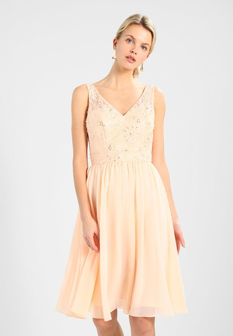 Cocktailkleid/festliches Kleid - peach | Pinterest | Kleid peach ...