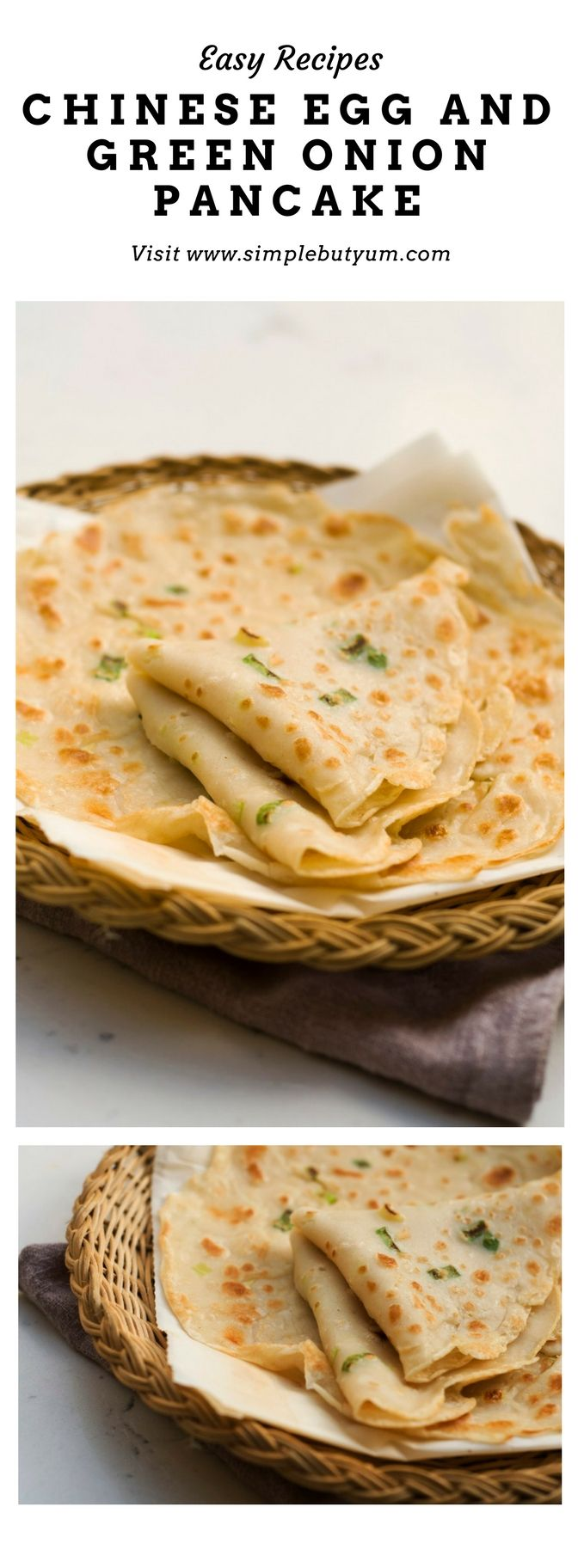 Photo of Chinese Egg and Green Onion Pancake