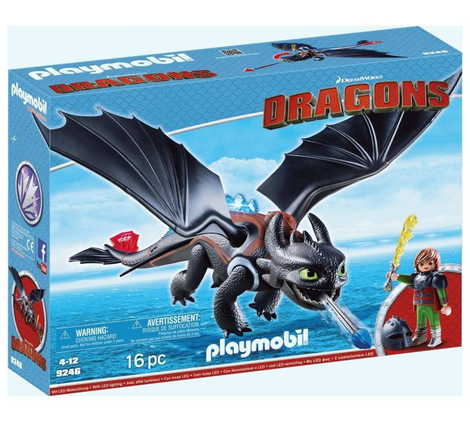 buy playmobil 9246 berks duo hiccup and toothless action figures and playsets argos