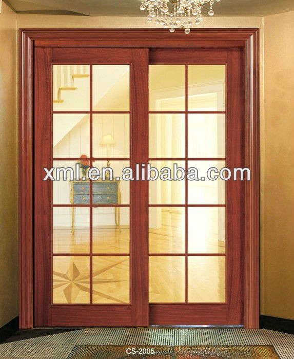 vetro decorativointernoinsertoin legno massello porte scorrevoli ...