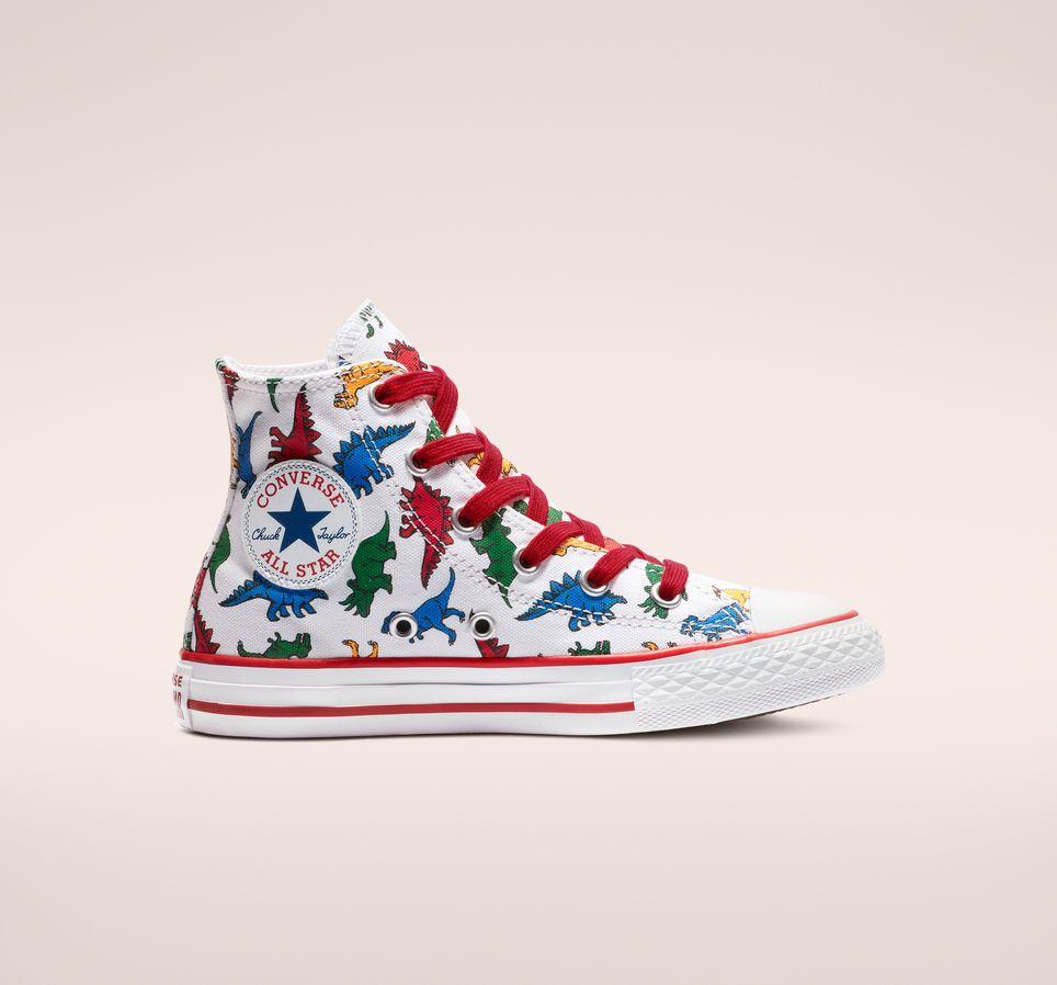 Chuck taylors, Kids' shoes, Dinosaur shoes