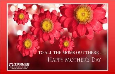 We would like to take a minute torecognizethe moms out there. We appreciate all that goes into being a mom. You are doctors, teachers, personal shoppers, chefs, house keepers, entertainers,counselors, bankers and the heart of the family. Happy Mother's Day!!!