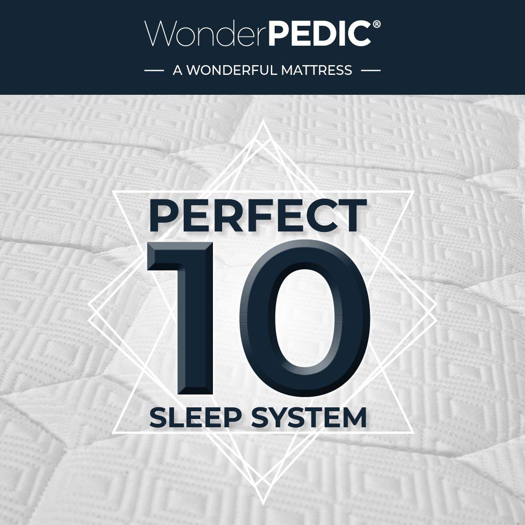 The Perfect 10 Sleep System Sleepwonderfully Wonderpedic