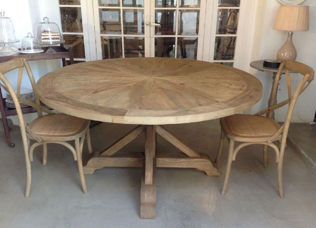 Mesa comedor redonda mosaico comedores pinterest for Comedores redondos de madera