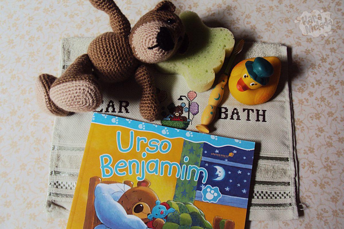 Kit Urso Benjamim diz Boa Noite Livros para Presentear #presente