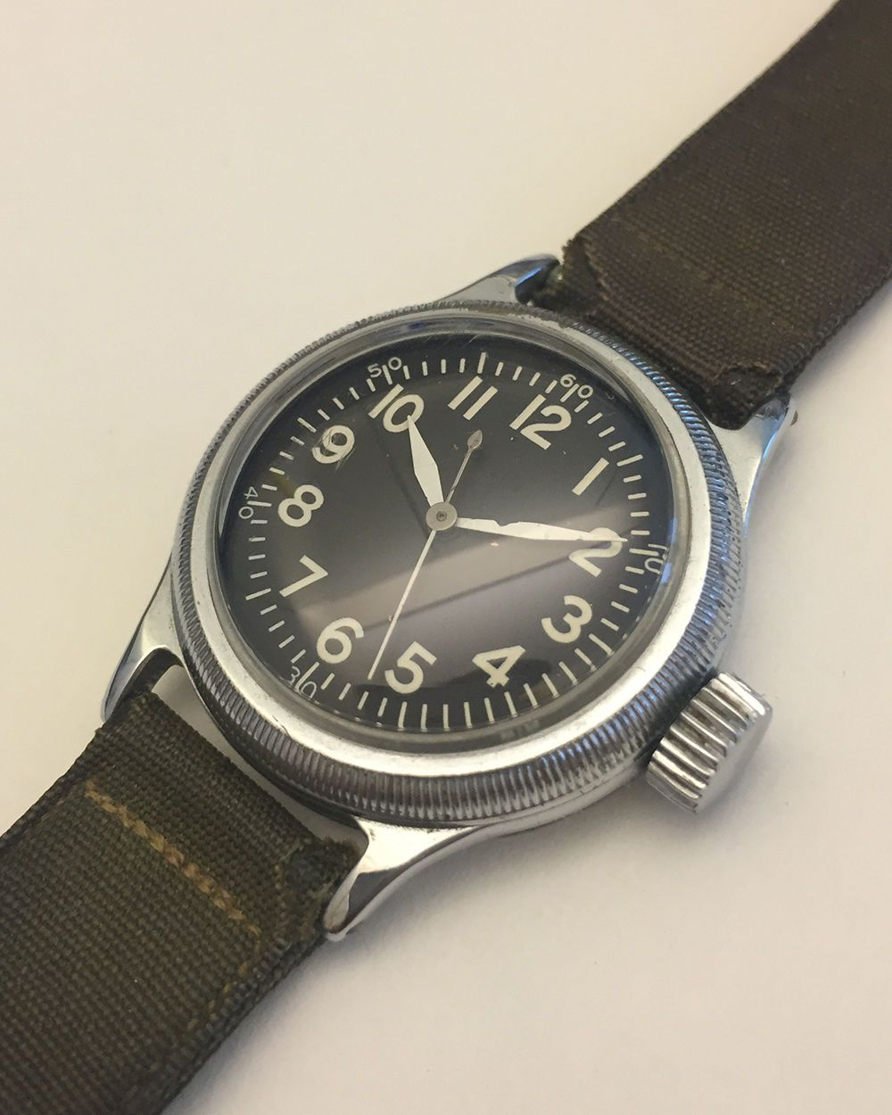 Vintage Elgin A-11 Military Watch WWII in 2019  f5056433217