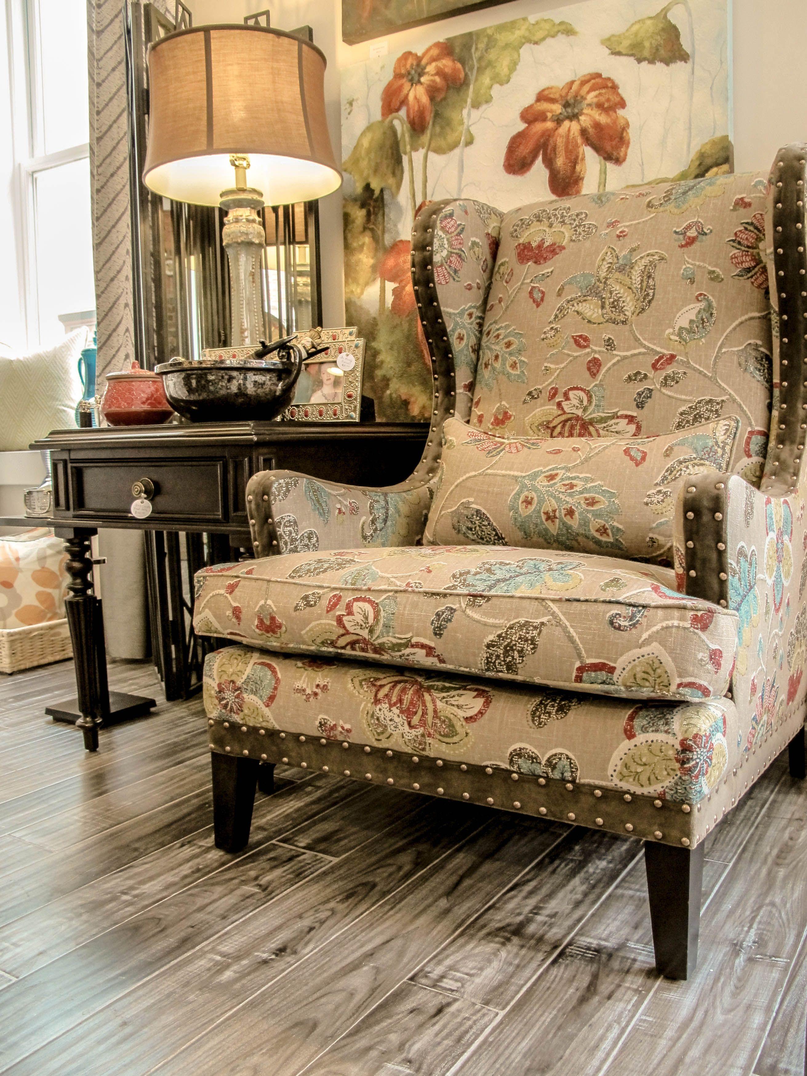 Modern wing chair make nest winchester va home