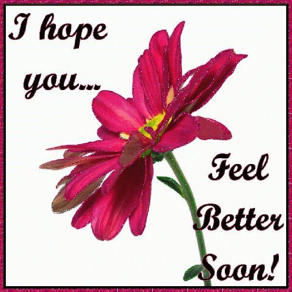 Espero Que Te Sientas Mejor Tarjetas Get Well Soon Quotes