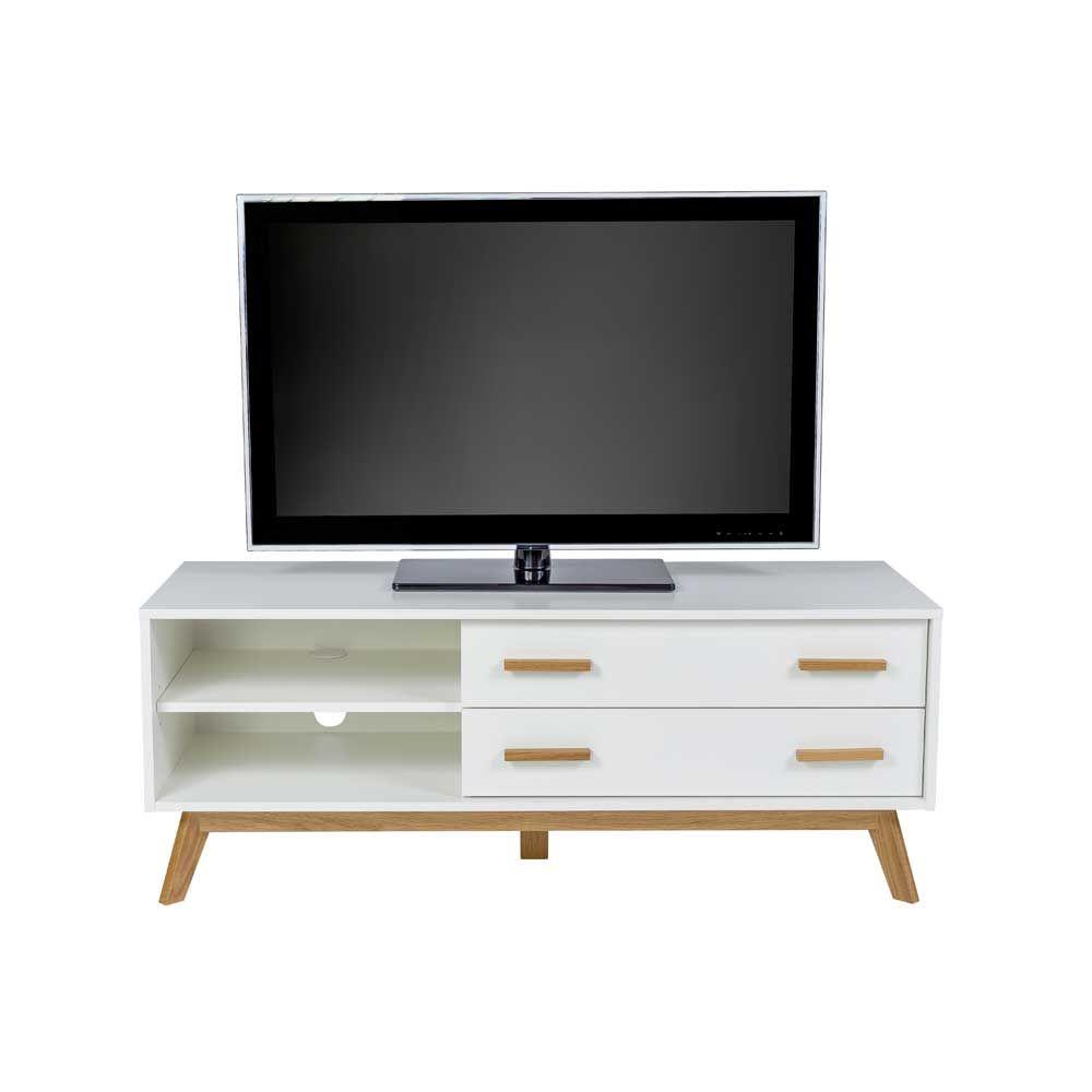 Verschiedene Lowboard Fernseher Sammlung Von Tv Im Skandinavischem Stil Weiß Eiche Jetzt