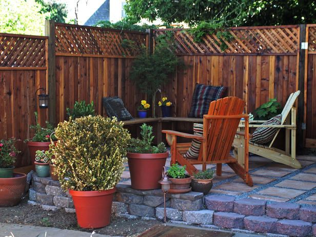 Our Favorite Outdoor Rooms From HGTV Fans Retaining walls, Hgtv