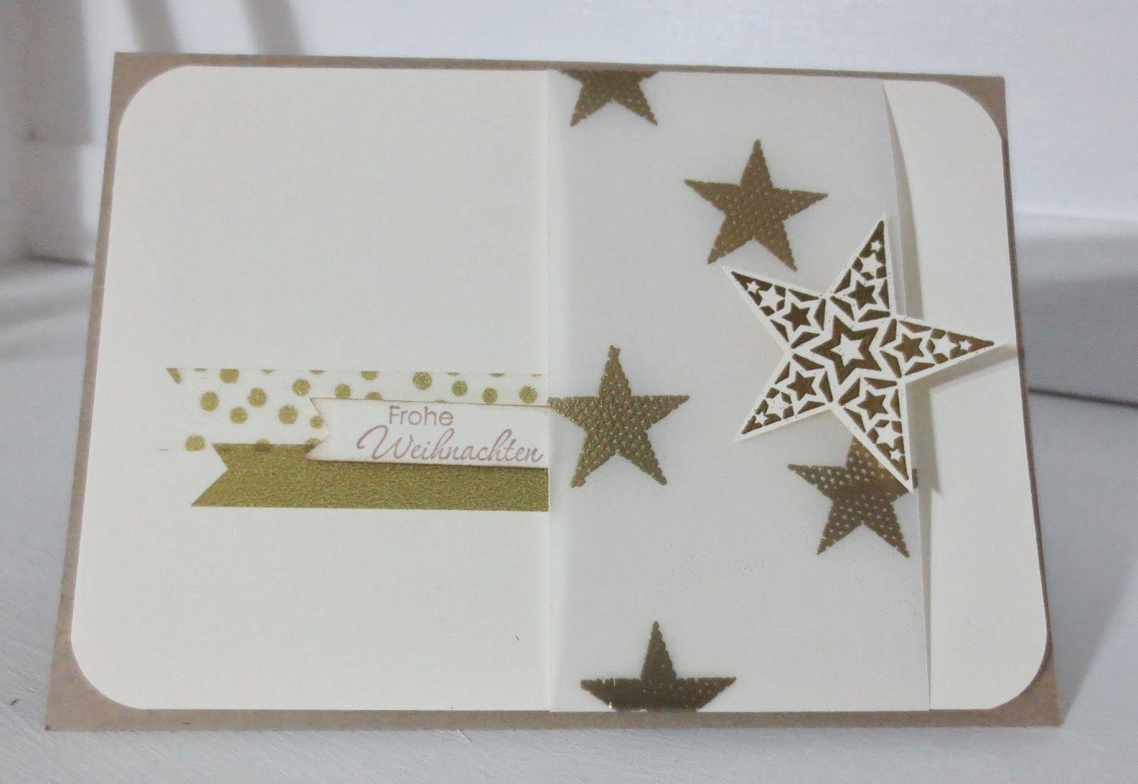 christmas card - stampin with beemybear
