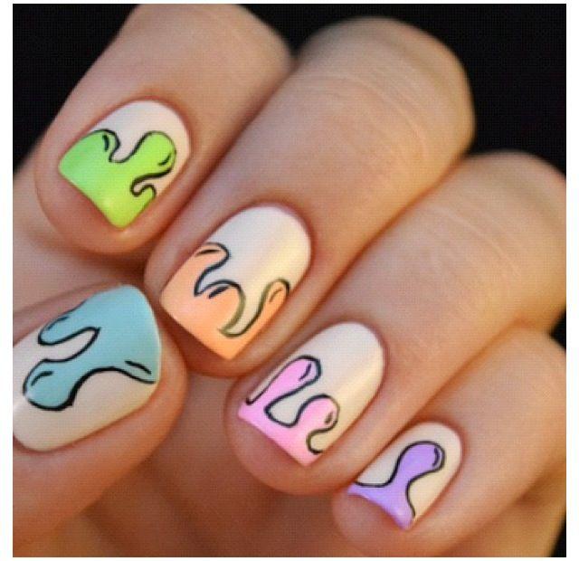 Nails, Tribal Nail Designs