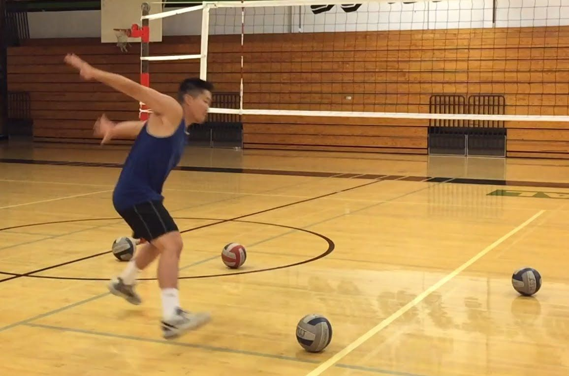 Improve Spiking Timing Part 1 2 How To Spike A Volleyball Tutorial Volleyball Drills Volleyball Workouts Coaching Volleyball