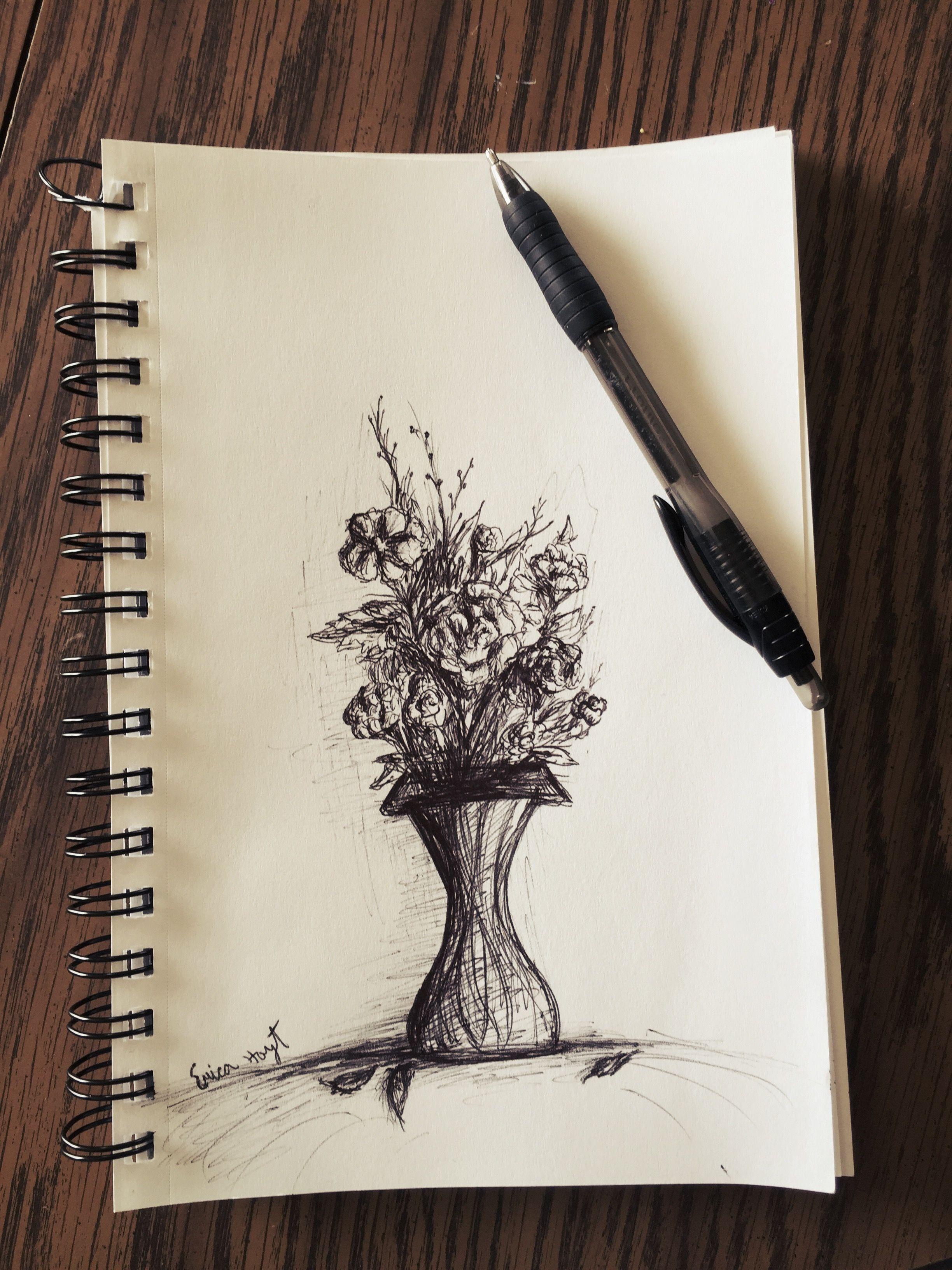 здесь, рисунки черной ручкой самоучки фото есть вопросы