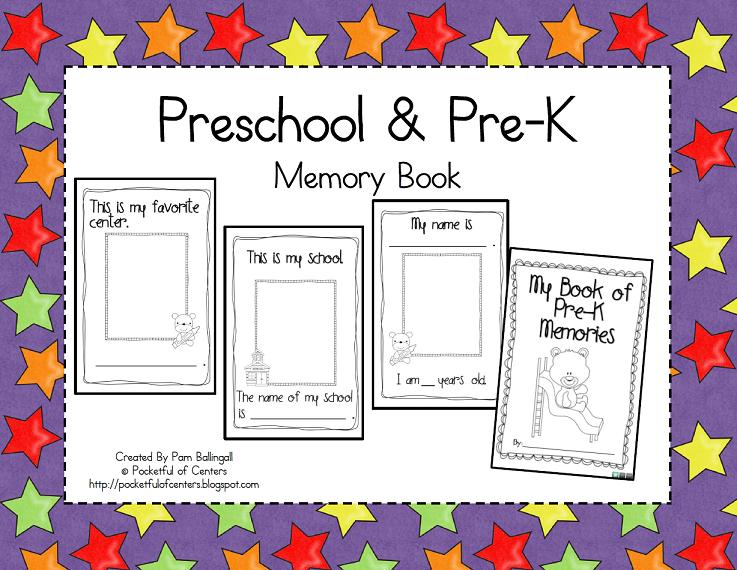 image about Preschool Memory Book Printable named Pre-K Preschool Memory Guide