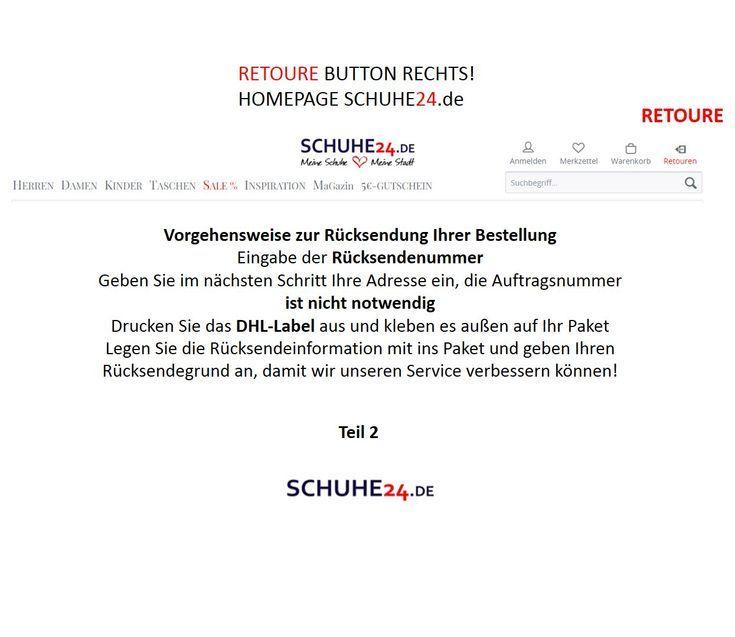 schuhe24 retouren