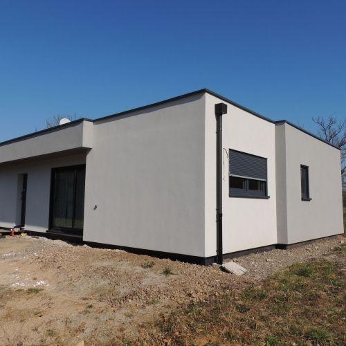 maison construction ossature bois Knutange RDC-140m2 Lorraine