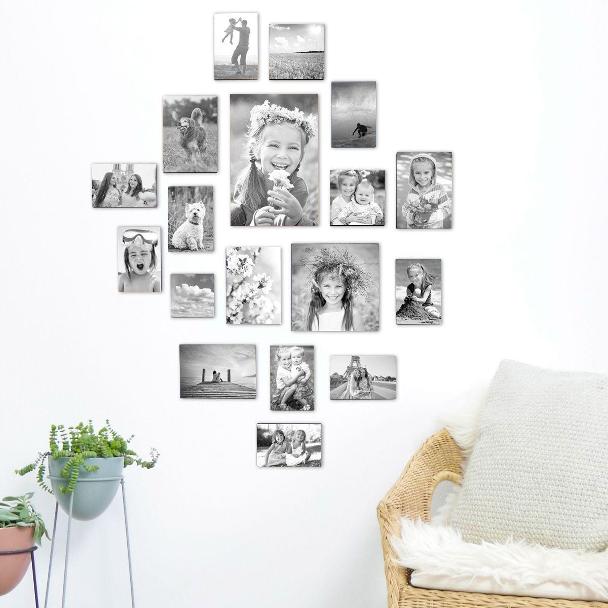 Einzigartige Fotowand Ideen Mit Bilderrahmen Kreativliste Fotowand Ideen Fotowand Bilderrahmen
