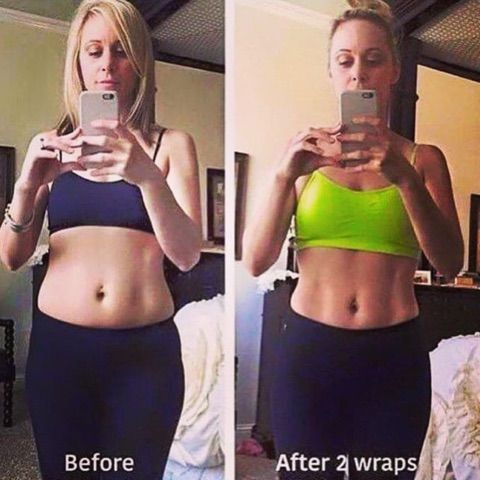 These could be your results!!! Our #wraps are NATURAL and safe for you!! Where else can you #tighten and #tone your body quickly?  Who's ready for results?? Let me help YOU!!! Contact me today to start your 12 WEEK / 12 WRAP CHALLENGE for $59 a month OR for $40 more JOIN the team and get 4 wraps #FREE!!!
