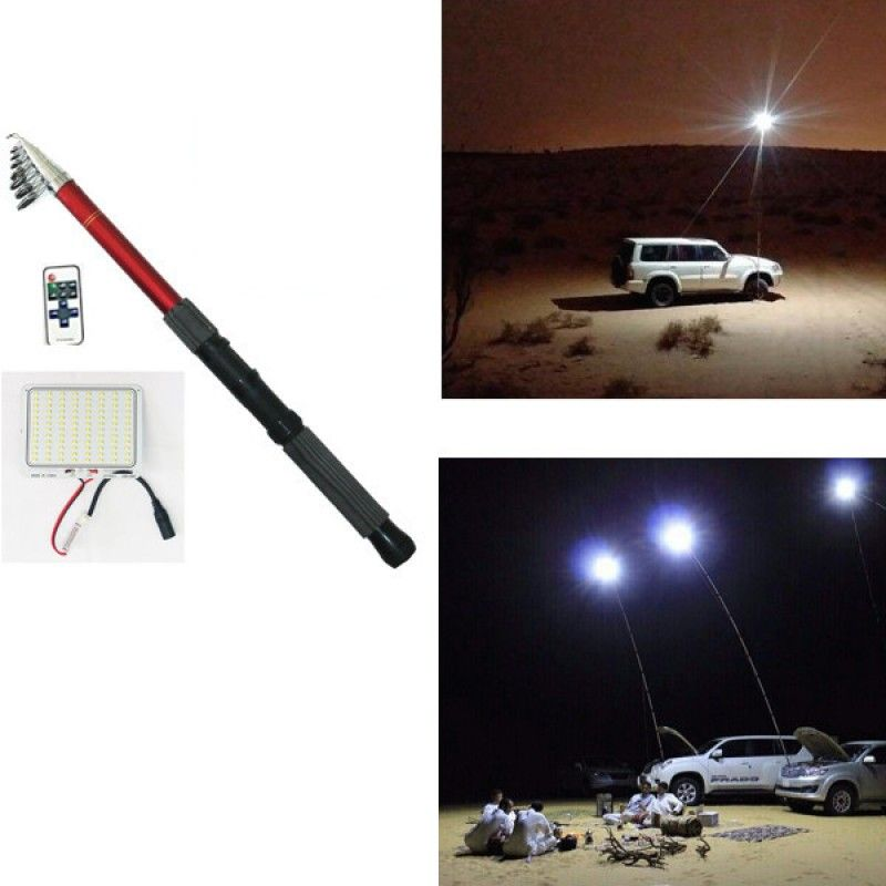 Sahara Cool Multifunction Light Is A Power Full Light That Can Be Attached To The Cars Battery Even If The Car Is Turned O Camping Lights Can Lights Cool Stuff