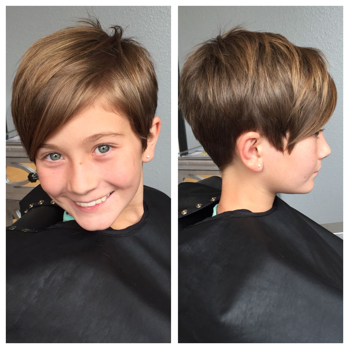 kids pixie haircut hair short