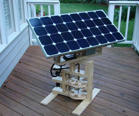 Internet Enabled Solar Tracker Solar Tracker Solar Panels Solar Projects