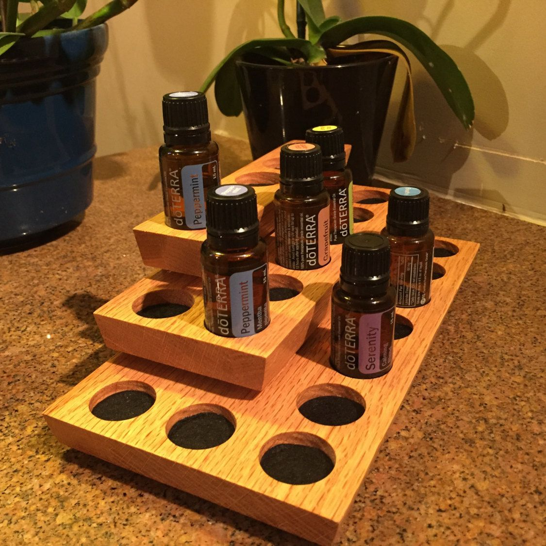 Essential oil display rack 21 vial corner display | Gerry needs to ...