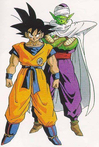 Manga Style Goku And Piccolo Desperately Wish I Could Draw Like