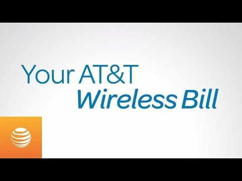 Your ATT Wireless Bill ATT - YouTube CUSTOMER SERVICE
