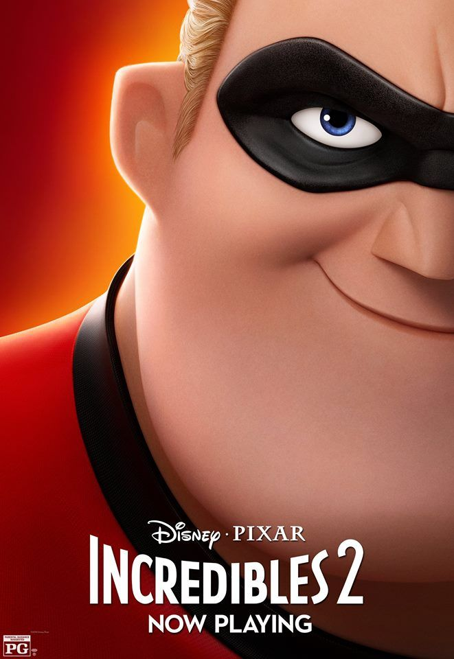 incredibles 2 character posters mr incredible