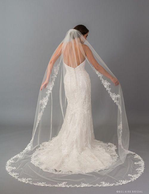 V7406 Bel Are Bridal Veil