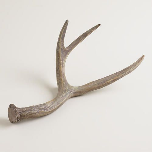 Cost Plus World Market Fall 2016 Collection: Wood Grain Medium Antlers From Cost Plus World Market's