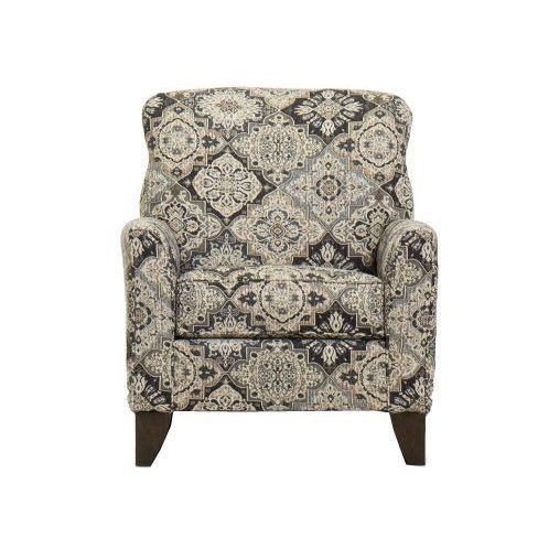 Classic Beige And Brown Accent Chair Belfast Brown Accent