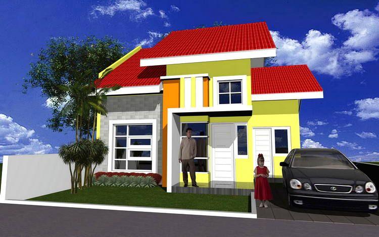 Warna Cat Rumah Minimalis Tampak Depan Rumah Minimalis Contoh Warna Cat Rumah