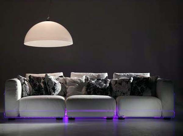 Sofa Design With Led Light For Livingroom Light Sofa Trendy