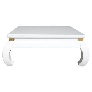 Check Out This Item At One Kings Lane! White Lacquered Ming Style Coffee  Table