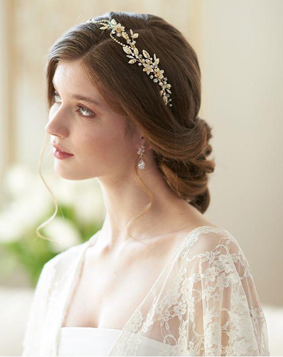 Bridal Headband Flower Girl Headband Bridesmaid Headband Pink Crystals Wedding Headband Wedding Tiara Pink Rose Delicate Prom